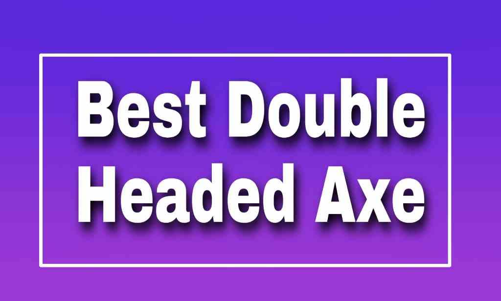 Double Headed Axe