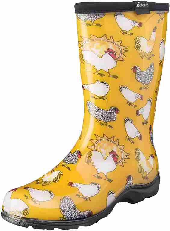best rubber boots for farm work
