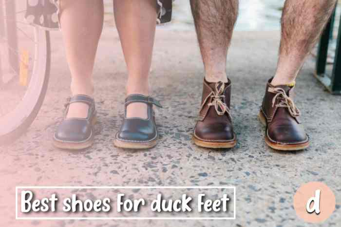 Best Shoes for Duck Feet