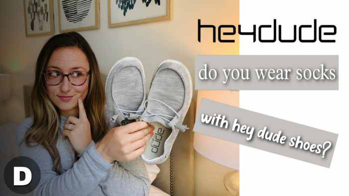 Do You Wear Socks With Hey Dude Shoes